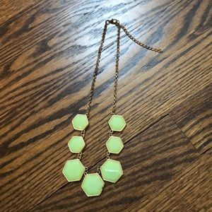 Sage Green Statement Necklace
